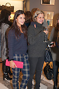 BIP LING; TANYA LING, Smythson Sloane St. Store opening. London. 6 February 2012.