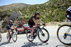 Lisa Klein (GER) battles up the categorised climb at Amgen Tour of California Women's Race empowered with SRAM 2019 - Stage 3, a 126 km road race from Santa Clarita to Pasedena, United States on May 18, 2019. Photo by Sean Robinson/velofocus.com
