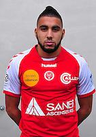 Bilal OUALI - 03.10.2013 - Photo officielle Reims - Ligue 1<br /> Photo : Philippe Le Brech / Icon Sport