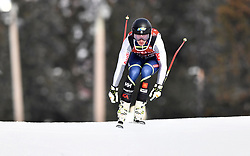 08.03.2017, Are, SWE, FIS Ski Alpin Junioren WM, Are 2017, Herren, Abfahrt, im Bild Olle Sundin, åtta // during men's Downhill of the FIS Junior World Ski Championships 2017. Are, Sweden on 2017/03/08. EXPA Pictures © 2017, PhotoCredit: EXPA/ Nisse<br /> <br /> *****ATTENTION - OUT of SWE*****