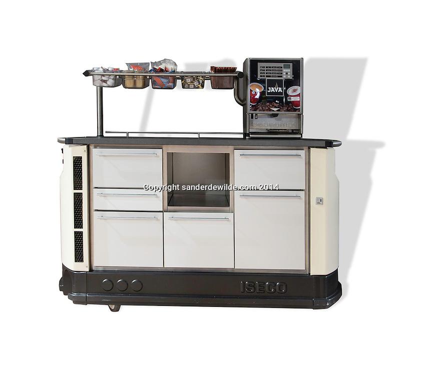 23 september 2014 Java Vakbeurs in Brussels Expo. ISeco en Java ontwikkelden deze broodserveerwagen voor o.a. ziekenhuizen.