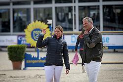 Van Roosbroeck Catherine, Van Roosbroeck Maurice, BEL<br /> CSI 2* Grand Prix<br /> Z Tour - Lanaken 2017<br /> © Hippo Foto - Julien Counet<br /> 20/04/12
