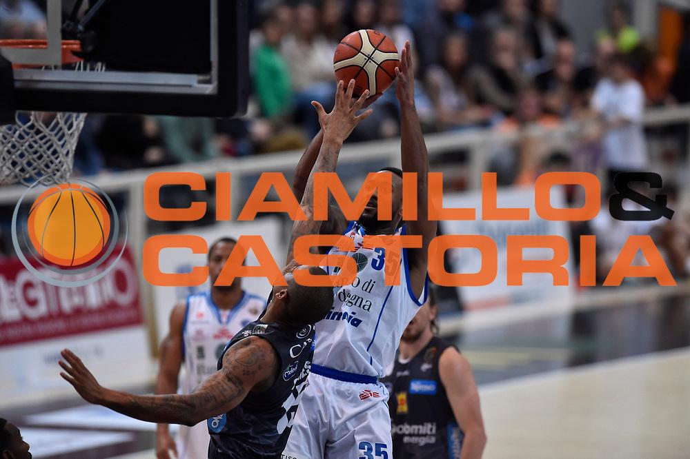 David Lighty<br /> Dolomiti Energia Trento - Banco di Sardegna Sassari<br /> Lega Basket Serie A 2016/2017<br /> Venezia 08/04/2017<br /> Foto Ciamillo-Castoria