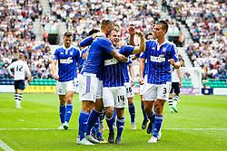 Ryan Fraser of Ipswich Town celebrates after scoring his sides second goal - Mandatory byline: Matt McNulty/JMP - 07966386802 - 22/08/2015 - FOOTBALL - Deepdale -Preston,England - Preston North End v Ipswich Town - Sky Bet Championship