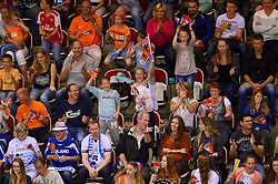 20150614 NED: World League Nederland - Finland, Almere<br /> Publiek, support