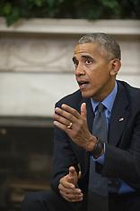 Washington: Obama Meets on Hurricane Matthew Preparedness, 7 Oct. 2016