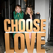Choose Love - shop launch, London, UK