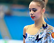 Mamun Margarita during Pesaro World Cup at Adriatic Arena on 10 April 2015. Margarita was born November 1,1995 in Moscow.