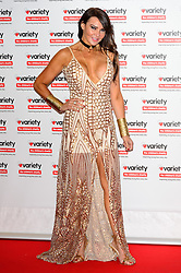 © Licensed to London News Pictures. 18/10/2016. LIZZIE CUNDY attends the Variety Showbiz Awards at the Hilton Park Lane Hotel. London, UK. Photo credit: Ray Tang/LNP