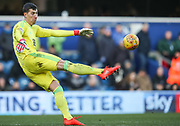 Nottingham Forest goalkeeper Costel Pantilimon during the EFL Sky Bet Championship match between Queens Park Rangers and Nottingham Forest at the Loftus Road Stadium, London, England on 24 February 2018. Picture by Toyin Oshodi.