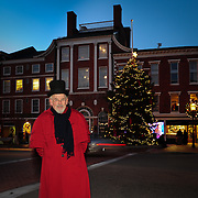 Vintage Christmas Hosts in Market Square, Portsmouth, NH