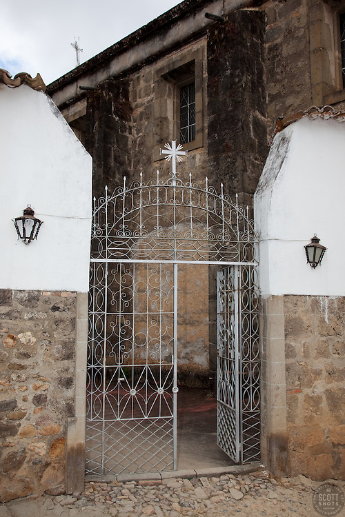 """Gate 1"" - This old gate was photographed in the small mountain town of San Sebastian, Mexico."