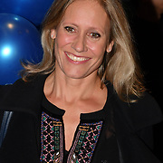 Sophie Raworth attend the Company - Opening Night at Gielgud Theatre, London, UK. 17 October 2018.