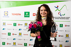 Anja Drev during Slovenian Disabled Sports personality of the year 2019 event, on January 21, 2020 in Austria Trend Hotel, Ljubljana, Slovenia. Photo by Vid Ponikvar / Sportida
