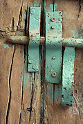old wooden door with old style bold