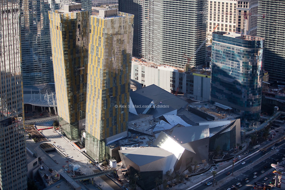 a 16,797,000 square feet mixed-use, urban complex on 76 acres located on the Las Vegas Strip in Paradise, Nevada. The project was started by MGM Mirage and Dubai World became a joint partner during the project's construction phase. It is