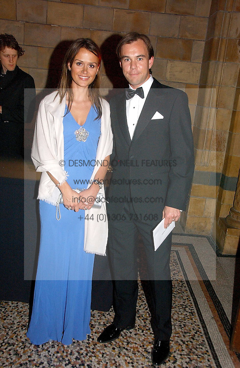 MR & MRS KARL-JOHAN PERSSON their family own the H&M fashion stores at a gala dinner in the presence of HM Quenn Silvia of Sweden and HM Queen Noor of Jordan in aid of the charity Mentor held at the Natural History Museum, Cromwell Road, London on 23rd May 2006.<br />