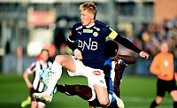 Fotball , 12. april 2019 , Eliteserien , Strømsgodset - Mjøndalen<br /> Jakob Glesnes , SIF<br /> Olivier Occean , MIF