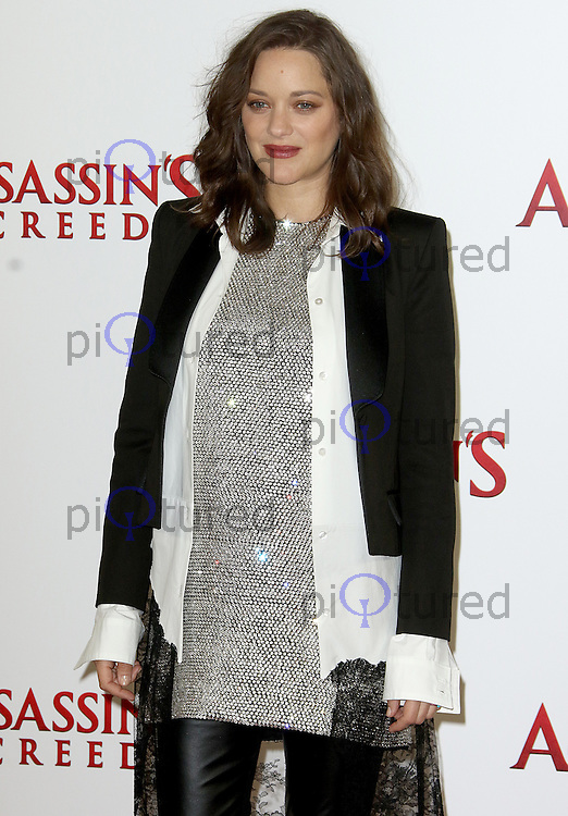 Marion Cotillard, Assassin's Creed - London Photocall, Claridge's, London UK, 08 December 2016, Photo by Brett D. Cove