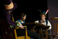WRHS dress rehearsal of Alice in Wonderland April 10, 2013.  Karen Bobotas/for the Laconia Daily Sun