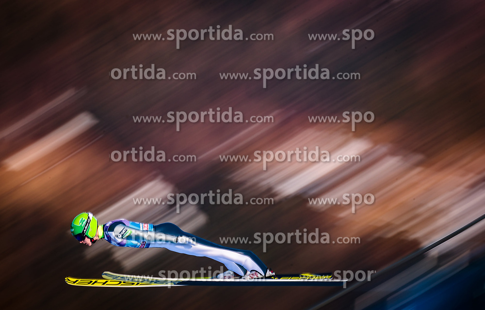 31.12.2017, Olympiaschanze, Garmisch Partenkirchen, GER, FIS Weltcup Ski Sprung, Vierschanzentournee, Garmisch Partenkirchen, Qualifikation, im Bild Eetu Nousiainen (FIN) // Eetu Nousiainen of Finland during his Qualification Jump for the Four Hills Tournament of FIS Ski Jumping World Cup at the Olympiaschanze in Garmisch Partenkirchen, Germany on 2017/12/31. EXPA Pictures © 2018, PhotoCredit: EXPA/ JFK