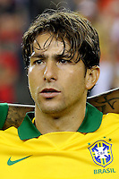 Football Fifa Brazil 2014 World Cup Matchs-Friendly / <br /> Brazil vs  Portugal 3-1  ( Gillette Stadium - Boston , Usa )<br /> MAXWELL of Brazil , during the Friendly match between Brazil and Portugal