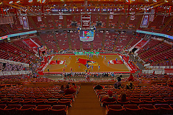 17 February 2016:  HDR Redbird Arena and Doug Collins Court before the Illinois State Redbirds v Indiana State Sycamores at Redbird Arena in Normal Illinois (Photo by Alan Look)<br /> <br /> This images should be treated as an illustration for editorial purposes.