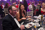 RONAN DOWLING; CAMILLA ROSS-WILSON, Quorn Hunt Ball, Stanford Hall. Standford on Soar. 25 January 2014