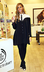 MAR 27 2013 Leona Lewis named as 'Brand Activist' for The Body Shop
