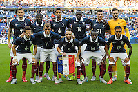 Equipe France - 07.06.2015 - France / Belgique - Match amical<br /> Photo : Andre Ferreira / Icon Sport