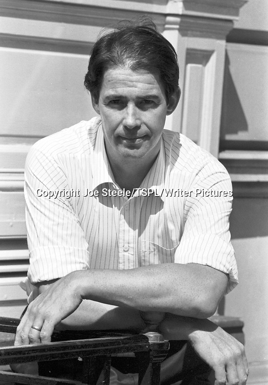 Writer, broadcaster and environmental activist Jonathan Porritt (location not given) in July 1990.<br /> <br /> Copyright Joe Steele/TSPL/Writer Pictures<br /> contact +44 (0)20 822 41564<br /> info@writerpictures.com<br /> www.writerpictures.com