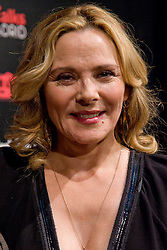 Kim Cattrall.<br /> Actress Kim Cattrall attends the Spanish theatre of Madrid, to participate in 'TimesTalks' organised by the New York Times journalists, Madrid, Spain, Saturday, 21st September 2013. Picture by Oscar Gonzalez / i-Images<br /> <br /> SPAIN OUT