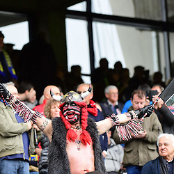 A Toulon fan during the European Champions Cup quarter final match between Clermont and Toulon at Stade Marcel Michelin on April 2, 2017 in Clermont-Ferrand, France. (Photo by Dave Winter/Icon Sport)
