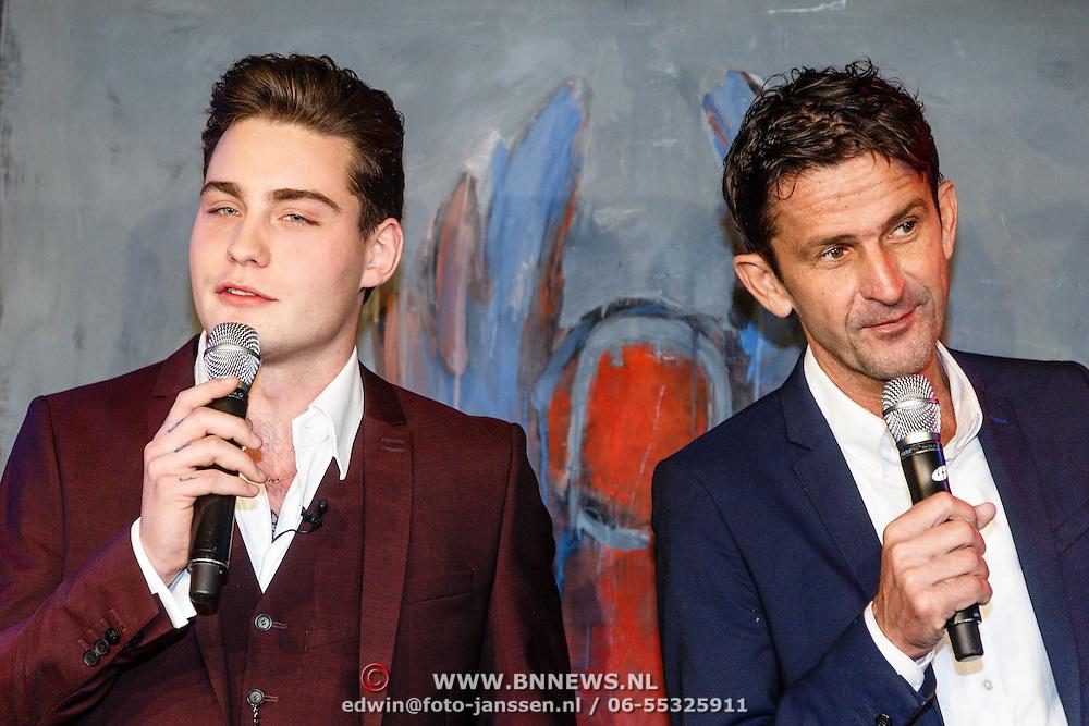 NLD/Amsterdam/20160304 - Douwe Bob maakt songfestival nummer bekend,