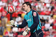 Coca Cola championship, Bristol City v Cardiff City at Ashton Gate ground in Bristol on Sun 15th March 2009. pic by Andrew Orchard, Andrew Orchard sports photography,  Cardiff city goalkeeper Stuart Taylor.