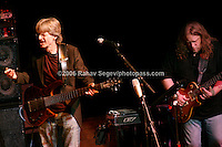 Phil Lesh on Bass with Warren Haynes  performing at Music For Youth's tribute to Bob Dylan at Avery Fisher Hall in Lincoln Center on November 9, 2006