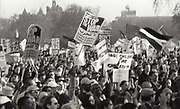 Demonstration campaigning against the war in Iraq, U.K, London 2000's.