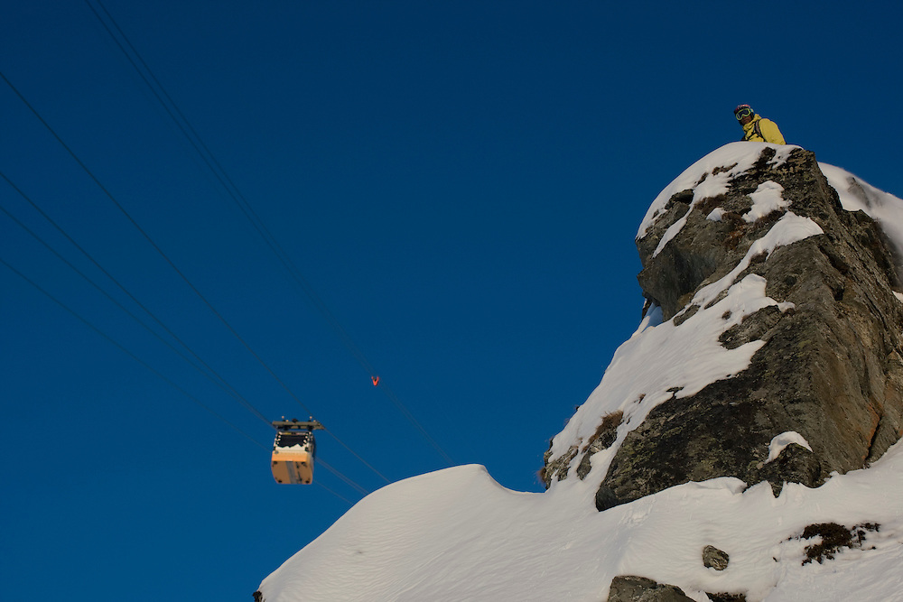 Rider: Phil Meier, location Verbier (Switzerland)