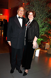 PRINCESS KATARINA OF YUGOSLAVIA and her husband MR DESMOND DE SILVA QC at Andy & Patti Wong's Chinese New Year party to celebrate the year of the Rooster held at the Great Eastern Hotel, Liverpool Street, London on 29th January 2005.  Guests were invited to dress in 1920's Shanghai fashion.<br />