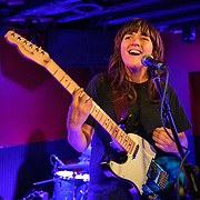 WASHINGTON, DC - February 19th, 2014 - Australian singer-songwriter Courtney Barnett performs at DC9 in Washington, D.C. Barnett garnered critical buzz from Rolling Stone and Pitchfork after releasing a string of E.P.'s over the last two years. (Photo by Kyle Gustafson / For The Washington Post)