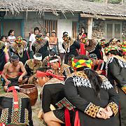 Bunun ba bu he in Malatangia Bunong shoot the ear festival, Namasiya Township, Kaohsiung County, Taiwan