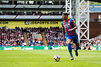 LONDON, ENGLAND - MAY 13: Patrick van Aanholt (3) of Crystal Palace during the Premier League match between Crystal Palace and West Bromwich Albion at Selhurst Park on May 13, 2018 in London, England. MB Media