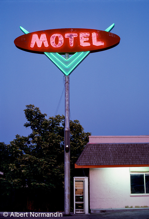 Motel Neon, Ontario, Oregon, USA, 1998?
