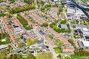 Nederland, Flevoland, Noordoostpolder, 07-05-2015; Marknesse, grootste dorp van de Noordoostpolder, gelegen aan de Zwolse Vaart, ten Oosten van Lelystad,<br /> Village in the New Polder Noordoostpolder, dating from 1942.<br /> luchtfoto (toeslag op standard tarieven);<br /> aerial photo (additional fee required);<br /> copyright foto/photo Siebe Swart