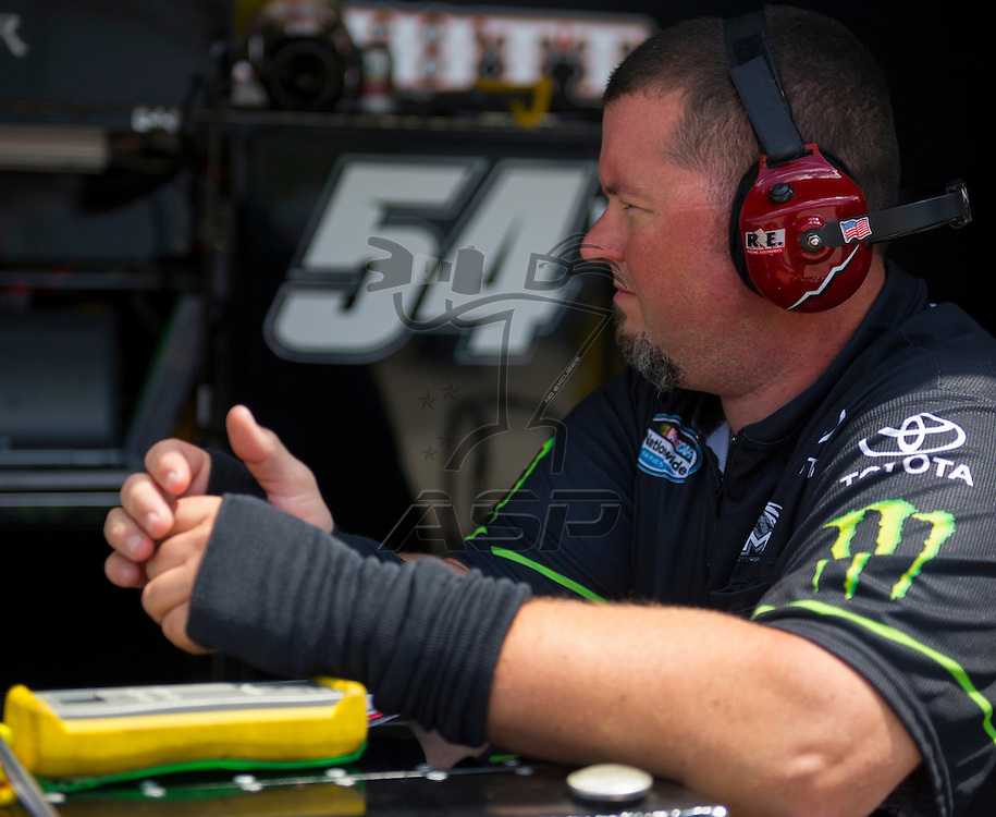 Elkhart Lake,WI - JUN 22, 2012: Kurt Busch (54) takes to the track during the first practice for the Sargento 200  race at Road of America in Elkhart Lake , WI.
