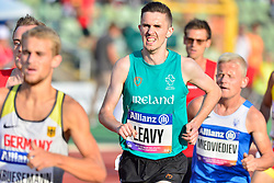 David Leavy, IRE competing in the T38 1500m at the Berlin 2018 World Para Athletics European Championships