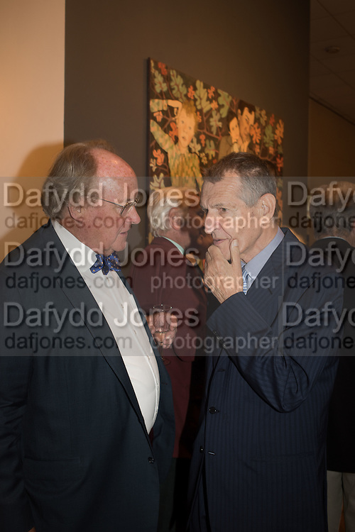 Exhibition opening of paintings by Charlotte Johnson Wahl. Mall Galleries. London, 7 September 2015.
