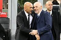 26.02.2016 - Milano  Serie A 2016/17 - 26a   giornata  -  Inter-Roma  nella  foto: Luciano Spalletti   e Stefano Pioli