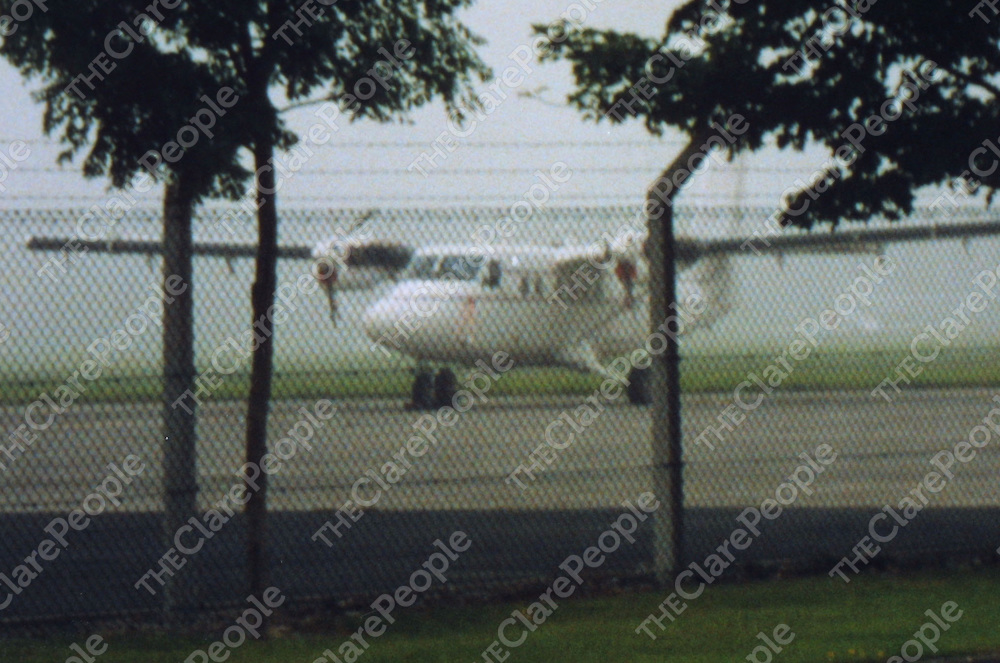 A DeHavilland twin otter spotted in Shannon Airport yesterday (Monday) morning.<br />