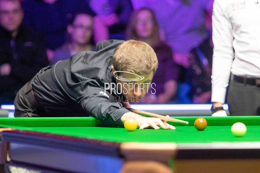 Jack Lisowski put up a great fight and was praised by Mark Selby in his post match interview at the World Snooker 19.com Scottish Open Final Mark Selby vs Jack Lisowski at the Emirates Arena, Glasgow, Scotland on 15 December 2019.